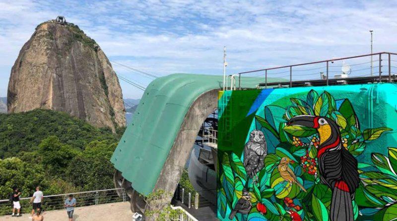 Bondinho Pão de Açúcar anuncia pintura com arte nas estações em parceria com a UIA2021RIO EXPO