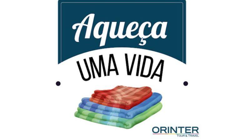Orinter anuncia campanha de vendas com doação de cobertores